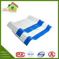 Easy installation 100% waterproof 3 layer light weight pvc roof tile