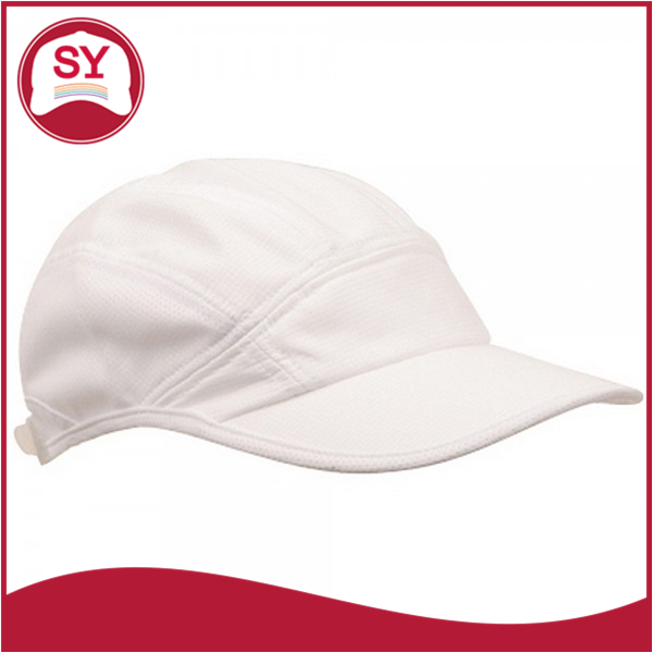 ONE SIZE fits most with strap closure Side Mesh Polyester Running Cap