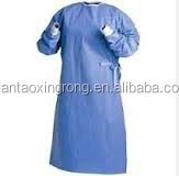 High Risk Reinforced SMS Surgical Gown, EO Sterilized