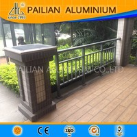UK beautiful flower outdoor decking aluminum fence design,garden aluminum fence panels for sale,balcony aluminum fence pricing