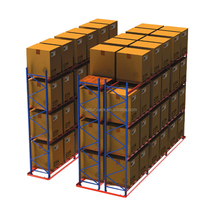 Hot Promotion Powder Coating Corrosion Protection Heavy Duty Drive in pallet rack