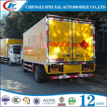 Dry box truck 4*2 Van truck 4x2 Explosive transporter for sale