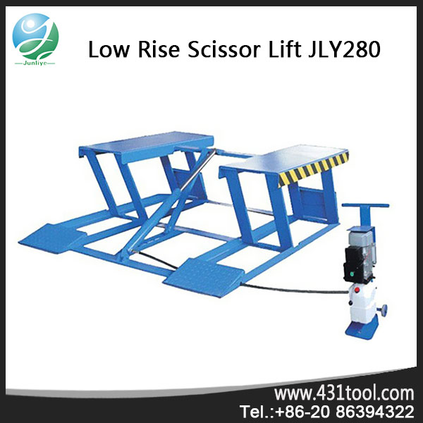 portable garage lift mobile vehicle lift auto scissor lift for sale
