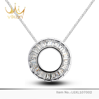 Elegant Simple Zircon Ladies Jewellery Pendant