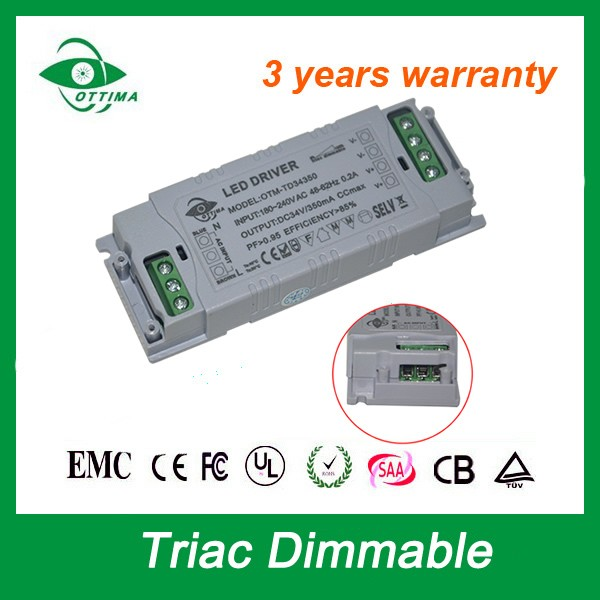 2000mA 12V 30W Dimmable Led Driver SAA CE ETL approved high quality triac Dimmable LED Power supply