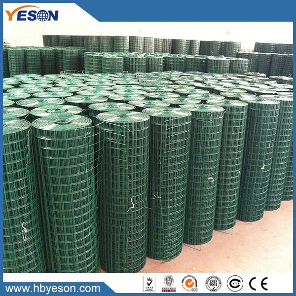 6x6 reinforcing 16 gauge pvc coated galvanized welded wire mesh