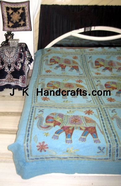 Completely handwork Embroidered Bedding Bedsheets