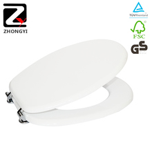 Sanitary ware mdf printing soft close toilet seat