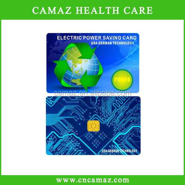 Best selling products high energy negaitve ions electricity power saver card