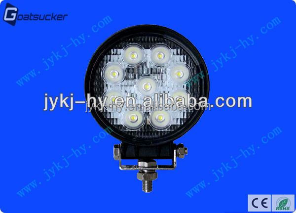 27w cree led work light long life span 9-32vdc suzuki swift car accessories