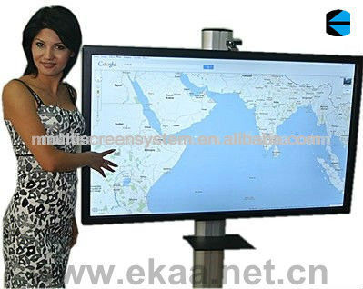 EKAA 65inch touch screen all in one PC computer tv combined build with graphic card for meeting conference