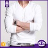 100 cotton soft and thin plain bulk v neck white t shirt stock lot