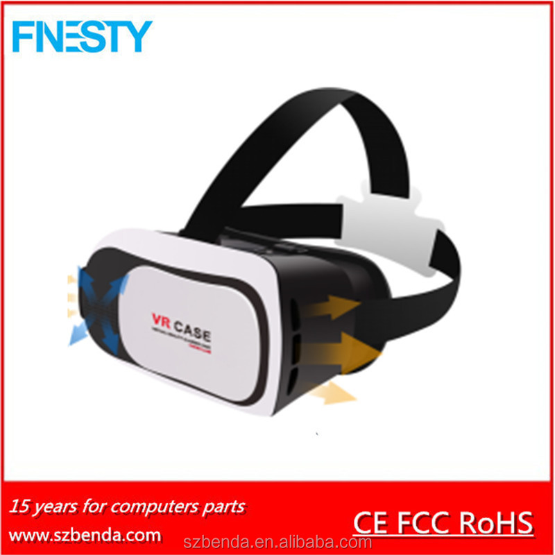 1.0/2.0/3.0 Virtual Reality Vr Box Headset With Free Porn Video