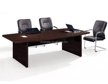 CF 45mm black color furniture office conference tables board room table design
