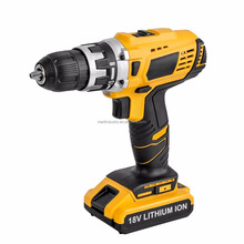 Cordless Drill Driver Kit 18V 1/2 Inch Lithium-Ion Mobile Power Tools Mini Electric Drill