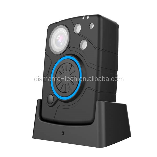 Mini size Ambarella A7 chipset 3500mAh IP67 waterproof Wifi body worn camera with 10 hours continuous video