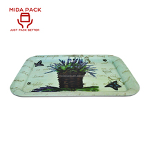 Arab anti slip serving breakfast bed tray with printing
