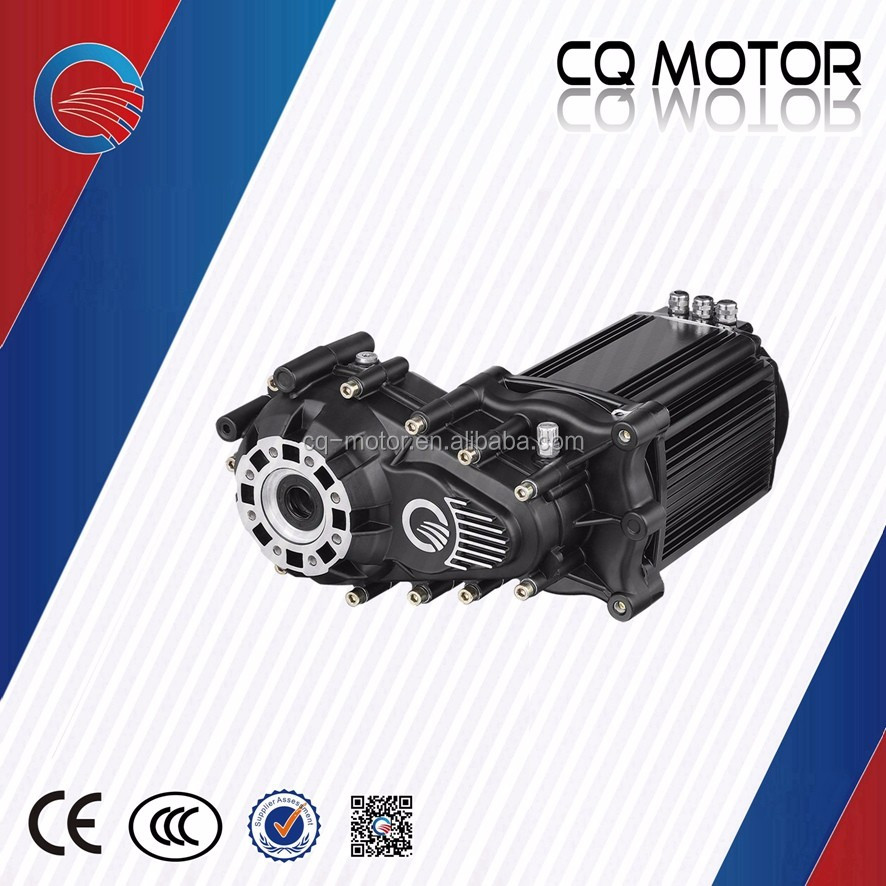 top speed 35km/h gross weight 1000kg dc brushless motor for electric vehicle