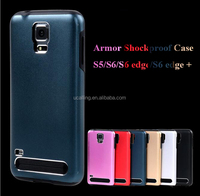 Top Selling Hybrid Slim Armor Hard Case For Samsung S5/S6/S6 Edge