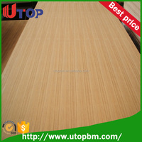 Hot selling natural straight line teak plywood to Vietnam