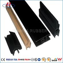 Waterproof soft epdm/silicone extrusion container door seal
