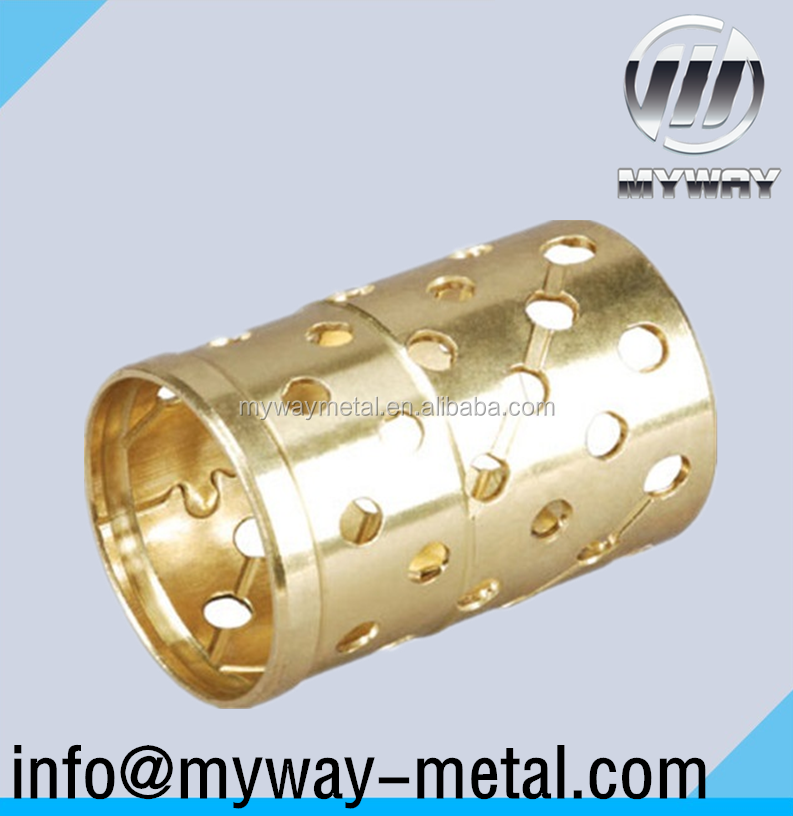 FB091 Oilless Bronze Sliding Self Lubricating Jiashan Bearing Bushing
