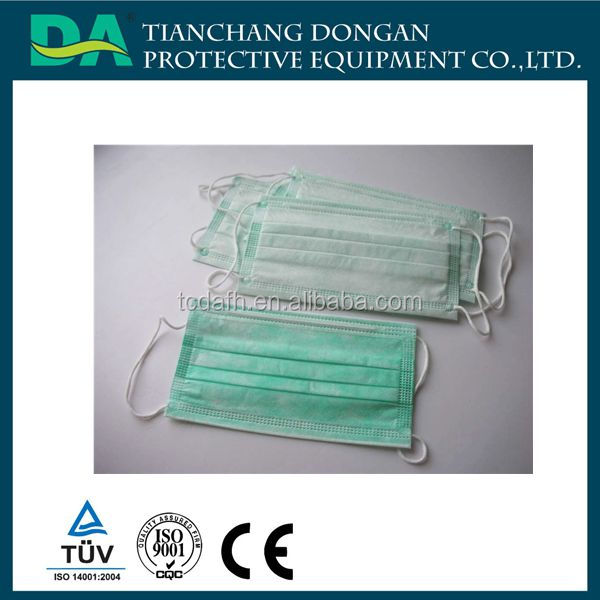 Disposable factory pink surgical medic equip face mask
