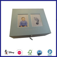 cardboard wholesale baby keepsake box