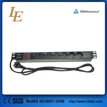 19'' Germany Type switched pdu rack means