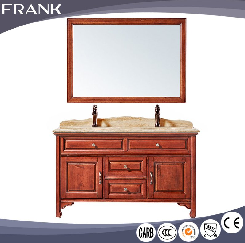 Commercial menards lowes wood corner countertop furniture wash basin mirror bathroom furniture sinks vanities