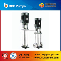 Vertical multistage stainless steel Centrifugal Water Supply pump