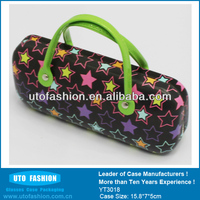 Cute Hard Kids Glasses Case with Handle for Girl YT3018