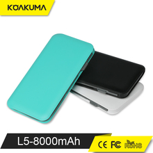 Factory price Portable Mobile Dual USB mobile power banks 5000 mah
