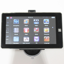7inch HD CE GPS navigation 84h 3 With 128MB 8Gb Free Map Update