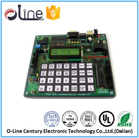 OEM ODM 94v-0 0.8t Chemical tin calculator printed circuit board