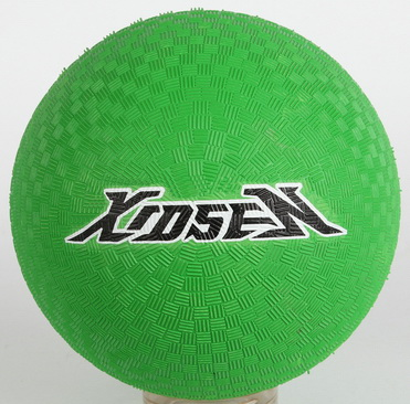 Xidesen soft touch kids play Rubber Playground ball 8.5 inch cartoon new design