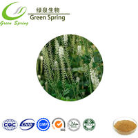 High quality black cohosh extract powder with free sample