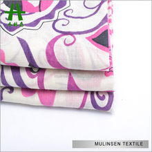 Woven Printed Japanese Cotton Voile Fabric