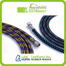 Solid Textile Outer Braided Fuel Hard EPDM Air Pump Rubber Tube