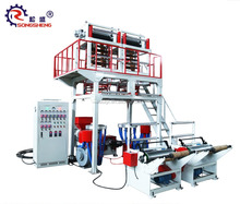 Double Winder Polyethylene Extrusion PE Double-Head Film Blowing Machine Extruder