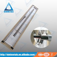 tungsten heavy metal alloys tube/rod/bar