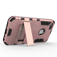Kickstand slim armor case for iphone 5 back cover