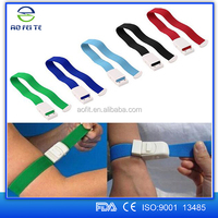 Aofeite best selling disposable medical tourniquet with plastic buckle