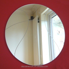 High Quality acrylic bathroom mirror/acrylic mirror