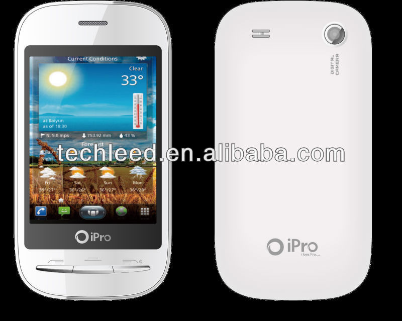 High quality cheap price Dual Sim ipro Q70 mobile phone With touch screen ,Dual Standby Analog TV(optional)