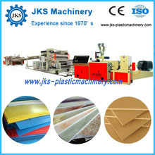 PP, PE, PVC, PS, ABS Plastic Sheet Production Line