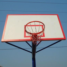 Waterproof quality basketball hoops stand smc backboard