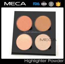 Makeup Highlight powder palette 4 colors Illuminating Powders Palette highlighter makeup with best formula