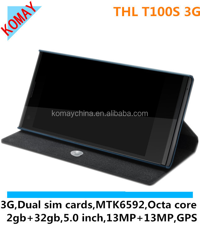 KOMAY Original 5inch MTK6592 Octa core 1.7Ghz with high quality THL T100s mobile phone