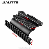 Jialitte Tactical AK 47 74 Picatinny Weaver Rails AK Series QD Double Side Scope Mount Quick Release Airsoft Accessories J039